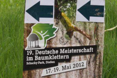 Deutsche Baumklettermeisterschaft 2012