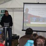 Deutsche Baumklettermeisterschaft 2014: Vortrag Johannes Bilharz