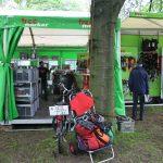Deutsche Baumklettermeisterschaft 2014: Freeworker-Stand