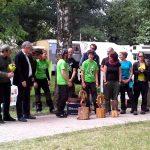 Deutsche Baumklettermeisterschaft 2014: Siegerehrung