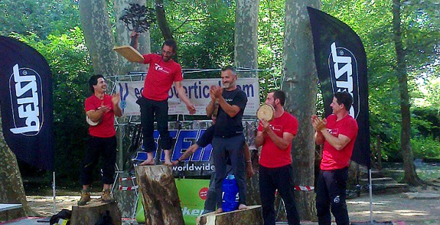 Spanische Meisterschaft im Baumklettern 2015