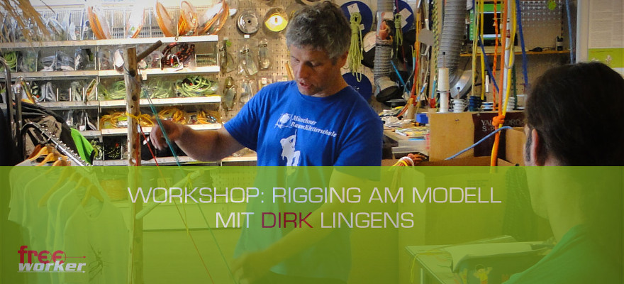 Dirk Lingens beim Freeworker: Workshop