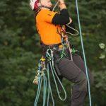 Deutsche Baumklettermeisterschaft 2015: Gaby Kleuver