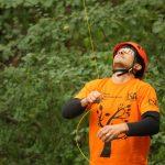 Deutsche Baumklettermeisterschaft 2015: Ronny Epple