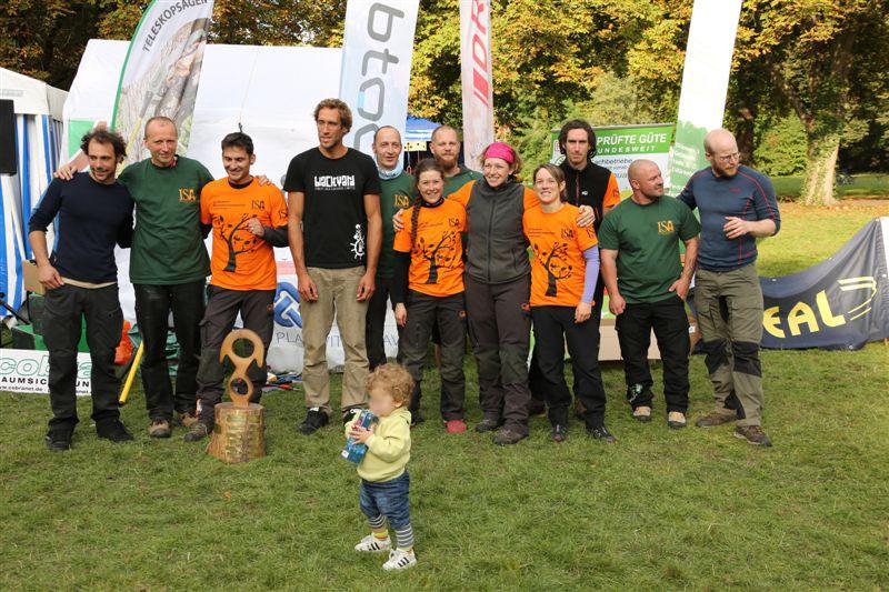 Deutsche Baumklettermeisterschaft 2015: Siegerehrung