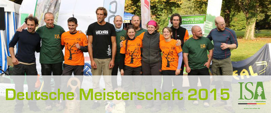 Dt. Baumklettermeisterschaft '15: Fotos und Ergebnisse