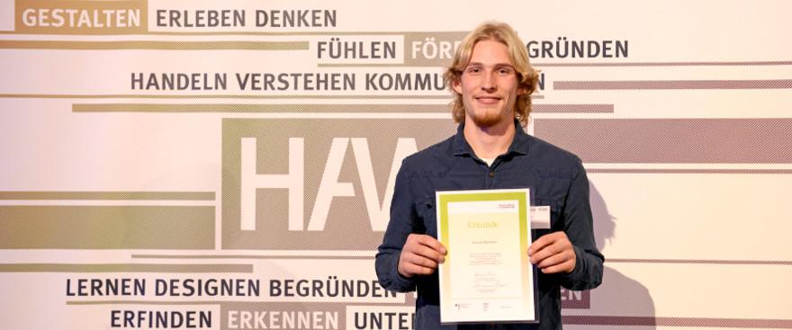 Deutschlandstipendium: Pascal Wörmann, unser Stipendiat