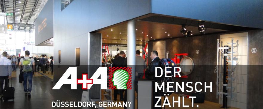Produkt-Neuheiten auf der A+A in Düsseldorf