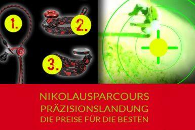 Freeworker Nikolausparcours 2015: 1. bis 3. Preis von ART
