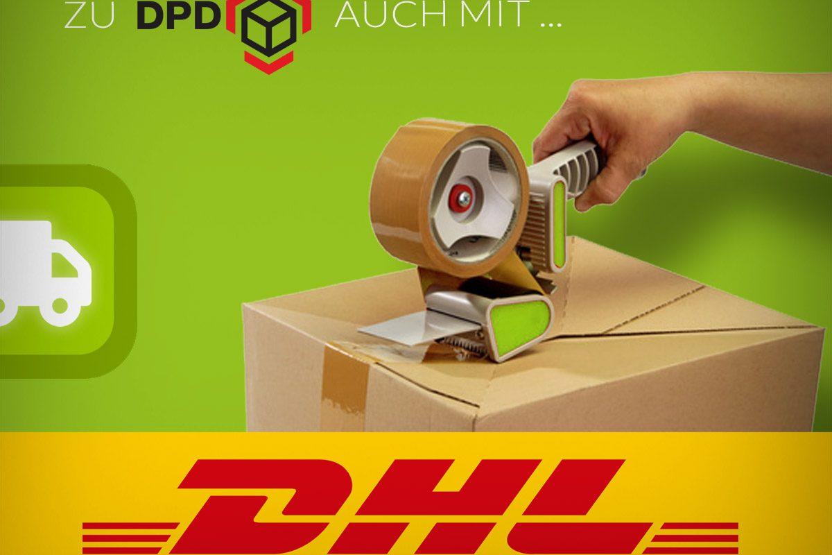 Freeworker-Online-Shop: Versand jetzt auch mit DHL