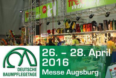 Deutsche Baumpflegetage in Augsburg: 26. bis 28. April 2016