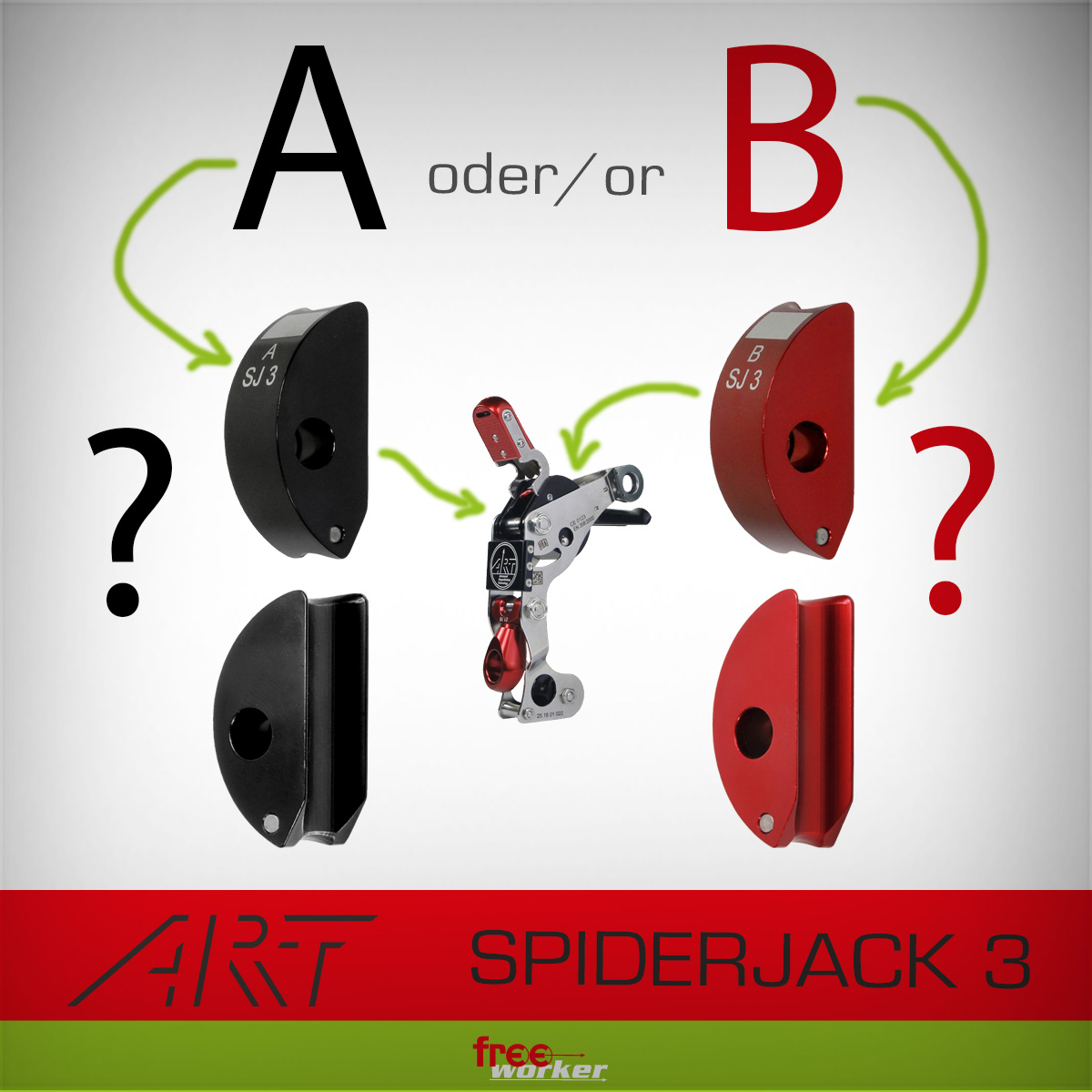 Clutch A oder B for the SpiderJack 3?