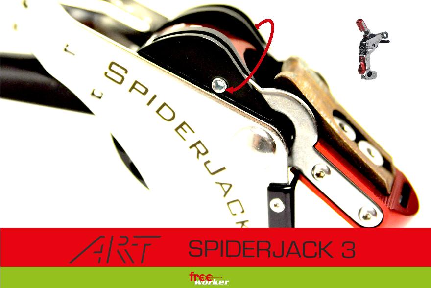ART SpiderJack 3: Sicherheitsüberprüfung