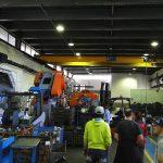 CAMP: Produktionshalle im eigenen Werk