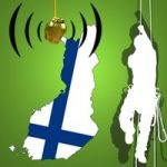 Finnische Baumklettermeisterschaft