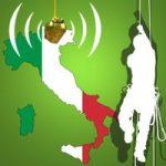 Italienische Baumklettermeisterschaft