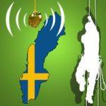 Schwedische Baumklettermeisterschaft