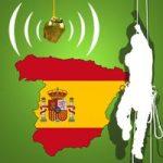 Spanische Baumklettermeisterschaft