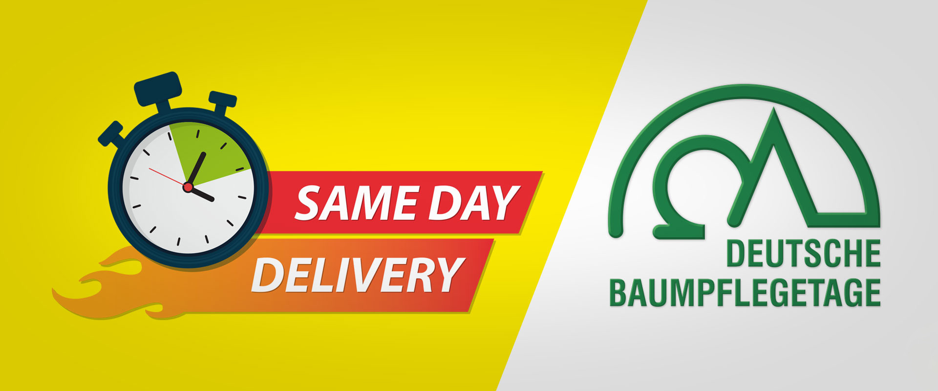 Baumpflegetage 2018: Same Day Delivery