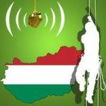 Ungarische Baumklettermeisterschaft