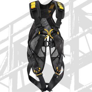 Schwarz-gelber Sicherheitsgurt