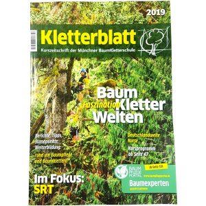 Cover des Kletterblattes 2019