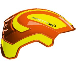Rot-Gelbe Protos Helmschale