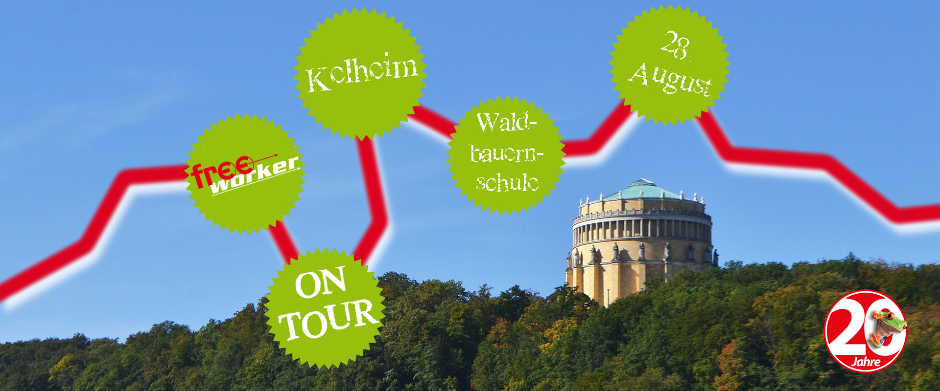 Permalink zu:Freeworker on Tour – Kelheim