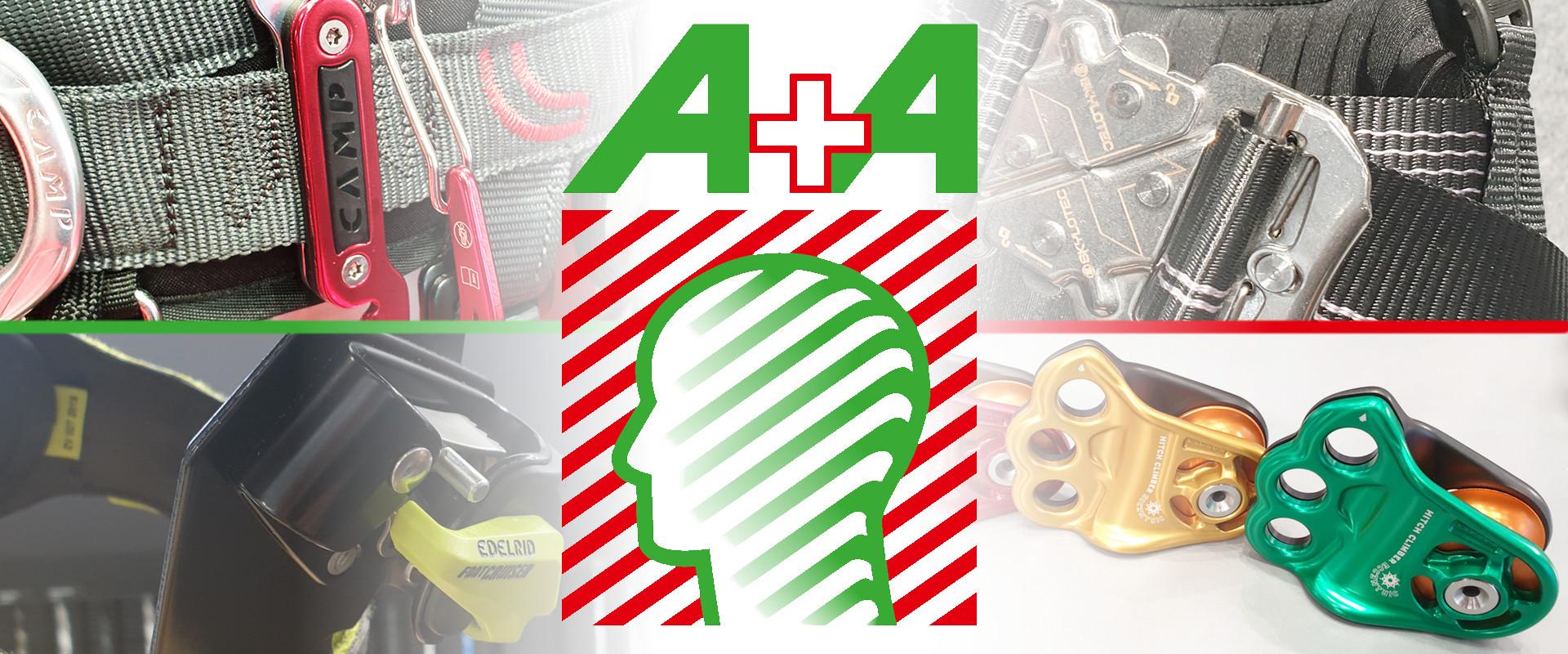 Permalink zu:Neuheiten für Baumpflege und Baumklettern A+A 2019
