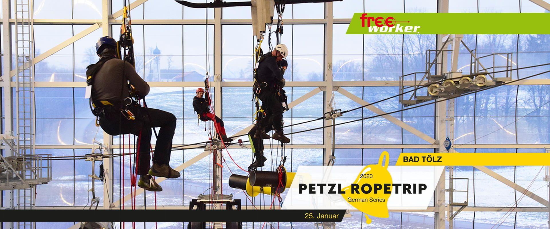 Permalink zu:Petzl RopeTrip® Series Germany 2020