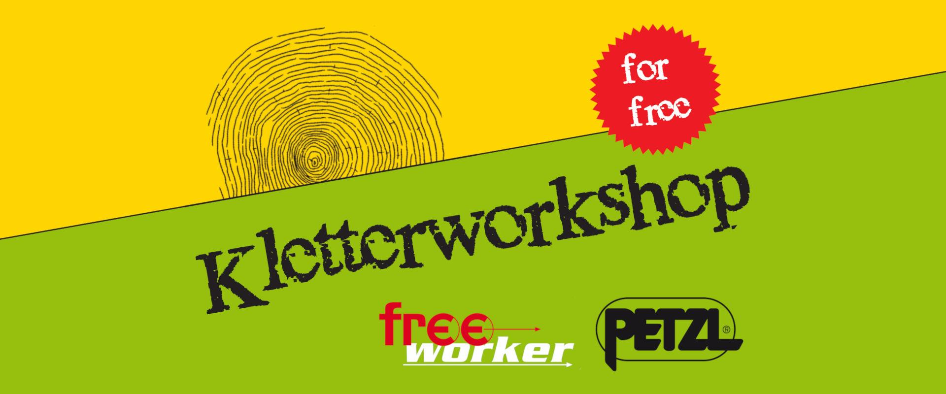 Permalink zu:Sei dabei! 2. Kletterworkshop von Freeworker und Petzl Deutschland