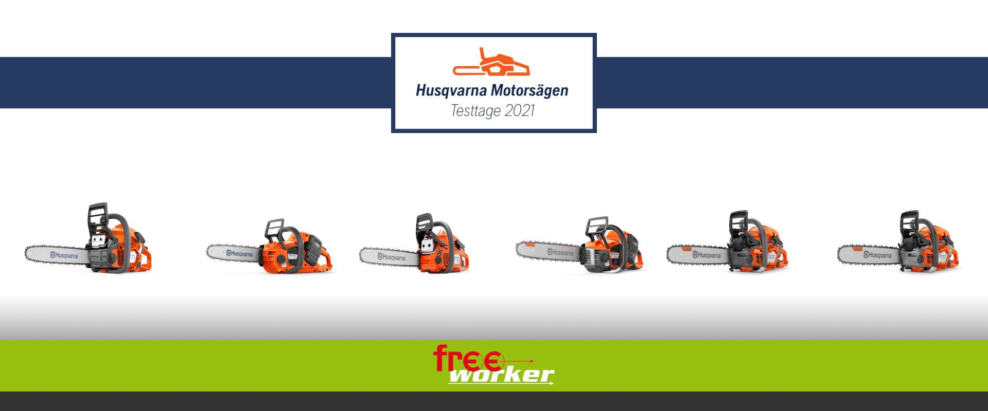 Permalink zu:Husqvarna Motorsägen Testtage 2021